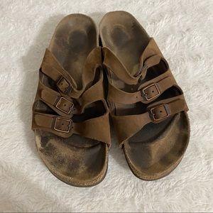Vintage 90's Birkenstock's 3 strap sandals